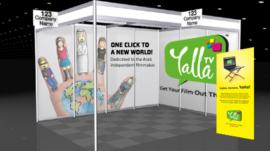 YallaTV Booth Design