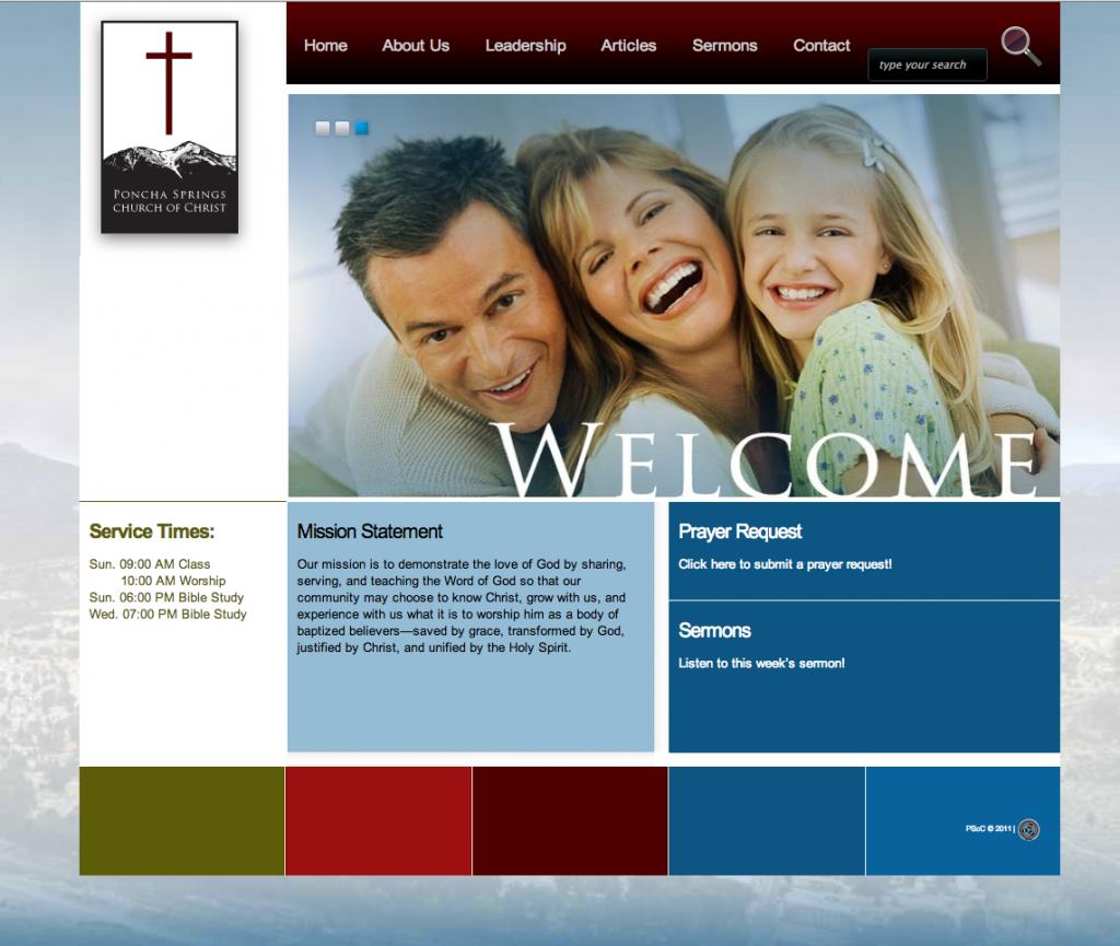 Poncha Springs Church of Christ