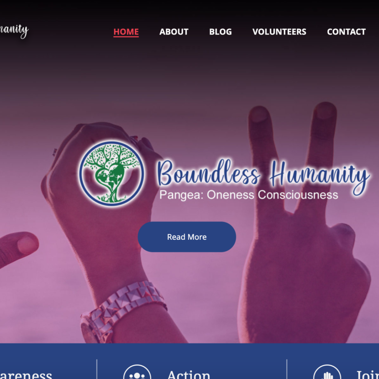 Boundless Humanity - Website